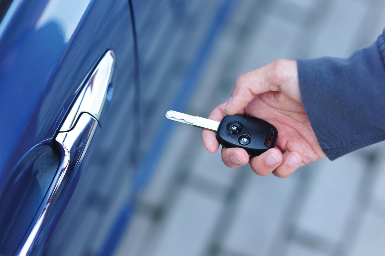 System keamanan Kunci Immobilizer