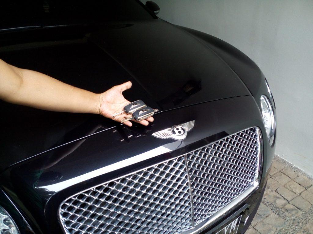 Duplikat kunci Bentley